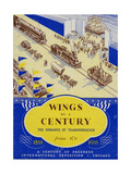 World's Fair: Wings of a Century, the Romance of Transportation, 1833-1933 Giclee Print