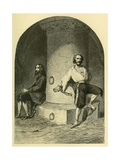 Russian Political Prisoner in Dungeons Fortress of Schlusselburg, 18-19th Century Prints