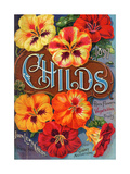 Seed Catalogues: John Lewis Childs, Rare Flowers, Vegetables, and Fruits. Floral Park, NY, 1897 Giclee Print