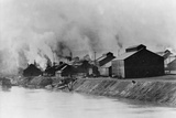 Polluting American Steel and Wire Plant in Donora, Pennsylvania, in 1910 Photo