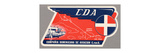 Air and Space: CDA Baggage Label Giclee Print