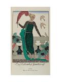 George Barbier Illustration Giclee Print
