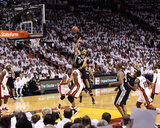 Miami, FL - JUNE 9 Tony Parker and Chris Bosh Photographic Print