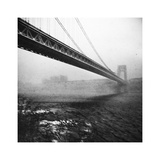 GWB Plenachrome Blur Photographic Print by Evan Morris Cohen