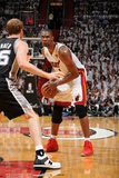 Miami, FL - JUNE 6 Chris Bosh and Matt Bonner Photographic Print