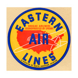 National Air and Space Museum: Eastern Air Lines Giclee Print