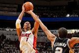 Miami, FL - JUNE 6 Chris Bosh and Kawhi Leonard Photographic Print