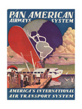 National Air and Space Museum: Pan American Giclee Print