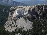 Mount Rushmore with 60-Foot Sculptures of Presidential Heads Was Carved in 1930s Posters