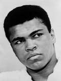 Muhammad Ali in 1967, the Year He Refused Induction into the U.S. Military Print