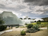 Biosphere2, an Artificial, Closed Ecological System in Oracle, Arizona, 1980s Photo