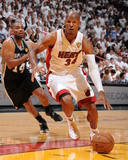 Miami, FL - JUNE 6 Ray Allen and Gary Neal Photographic Print