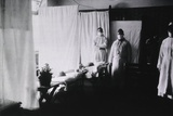 U.S. Army Pneumonia Ward in Germany During the Spanish Flu Epidemic 1918-19 Prints