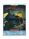Railroads-Instrumental, The Midnight Flyer March-Twostep by E.T.Paull, Sam DeVincent Collection Giclee Print
