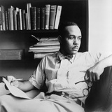 Ralph Ellison (1914-1994), Author of the Classic Novel, Invisible Man (1953), 1950 Photo
