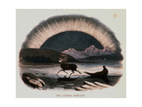 "Smimthsonian Libraries: Aurora Borealis from ""Thirty Plates Illustrative of Natural Phenomena"" Giclee Print"