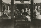 Signing Franco-German Armistice Inside the Same Railroad Coach, France, July 31, 1940 Photo