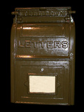 National Postal Museum: Owens-Style Collection Box Photographic Print