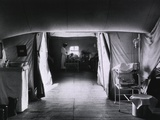 American National Red Cross Tent Hospital in France During World War I, 1917-18 Print