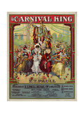 """The Carnival King"" from the Collection of Sheet Music at the National Museum of American History Giclee Print"
