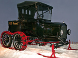 National Postal Museum: Ford Model-T with Snowmobile Attachment Photographic Print