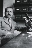 George Papanicolaou Developed a Simple Cytological Test for Cervical Cancer in 1928 Print
