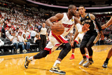 Miami, FL - JUNE 6 Dwyane Wade and Danny Green Photographic Print