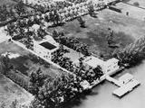 Al Capone's Luxurious Florida Estate, 1930s Photo