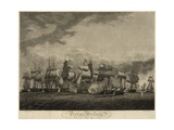 American and British Battleships in Close Quarters on Lake Erie, Sept. 10, 1813 Prints