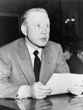 Frank Stanton, President of CBS, Speaking in NYC, 1959 Posters