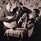 Fado Singer in Portuguese Night Club, 1946 Photo