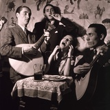 Fado Singer in Portuguese Night Club, 1946 Photo