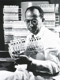 Jonas E. Salk Medical Researcher Who Developed the First Polio Vaccine, Ca. 1955 Posters