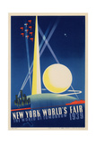 World's Fair: Poster for New York World's Fair 1939, National Museum of American History Lámina giclée