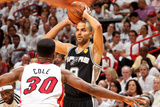 Miami, FL - JUNE 6 Tony Parker and Norris Cole Photographic Print
