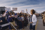 Betty Ford Is Greeted by a Friendly Crowd at a Phoenix Arizona Campaign Stop, 1976 Posters