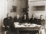 William Taft (Center) Headed Philippine Commission to Govern the Annexed Islands, 1900 Prints