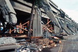 Loma Prieta Earthquake Pancaked the of the Nimitz Freeway Killing 42, Oct. 17, 1989 Posters