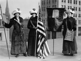 Suffrage Hike of 1912 from Manhattan to Albany Got Attention for Woman's Rights Photo