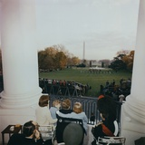 The Kennedy Family Watch the Black Watch Perform at the White House, Nov. 1963 Photo
