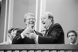 Jimmy Carter and Former VP Hubert Humphrey at Democratic National Convention, 1976 Photo