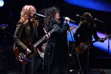 Ann and Nancy Wilson of Heart Perform for Marines in San Diego, Dec. 3, 2010 Photographic Print