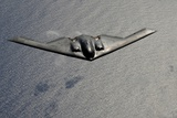 B-2 Stealth Bomber in Flight over the Pacific Ocean, March 10, 2009 Photo