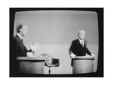 1st Presidential Debate Between Pres. Gerald Ford and Jimmy Carter, Sept. 23, 1976 Posters