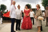 President Ferdinand and Imelda Marcos and US Amb. Stephen Bosworth, 1980s Prints