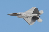 F-22 Raptor Fighter Executes an Aerial Maneuver at Luke Air Force Base, 2011 Prints