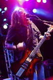Shaun Morgan Welgemoed of the Rock Group Seether Entertains Marines in 2010 Photographic Print