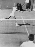Arthur Ashe, Playing Tennis at Forest Hills, N.Y. in 1964 Photographie