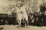 Suffragist Inez Milholland, Was the 'Herald' of Washington Parade, March 3, 1917 Photo