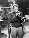 Miles Davis Performing in 1960 Photo